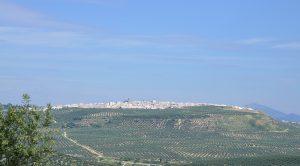 pueblo de Porcuna en Jaén