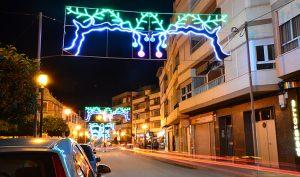 calle principal de Porcuna, en Jaén