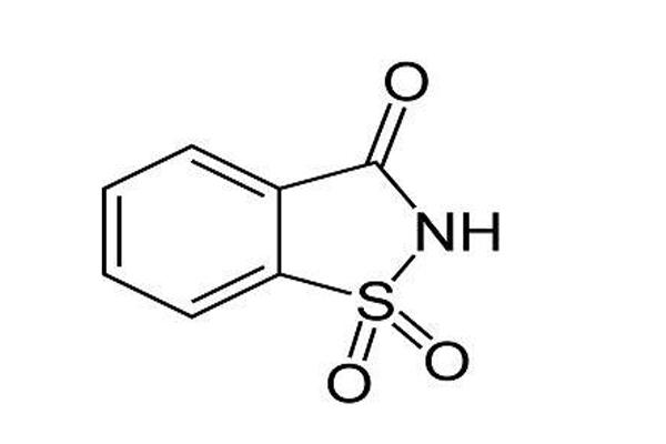 Saccharin-Formel