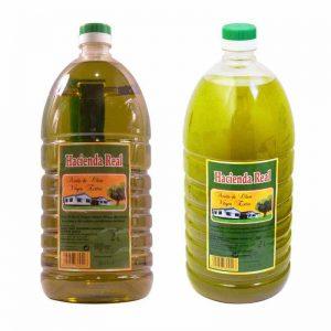 aceite de oliva filtrado y sin filtrar