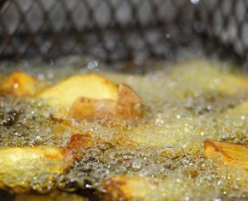 el mejor aceite para freir patatas