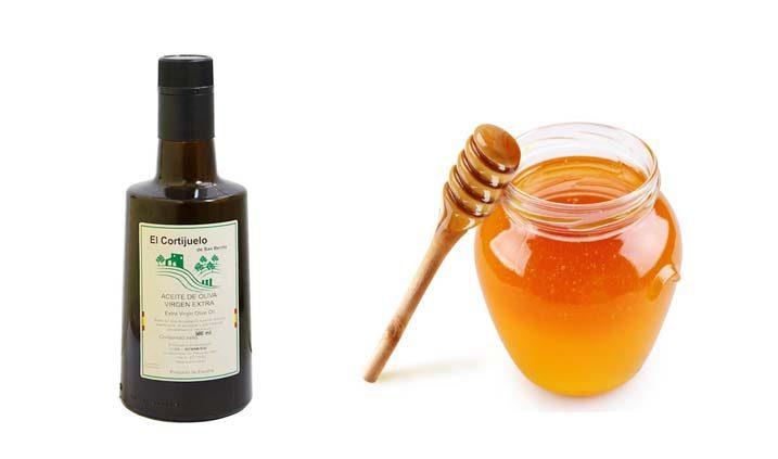 aceite y miel