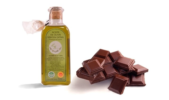 chocolate and olive oil, food for the heart