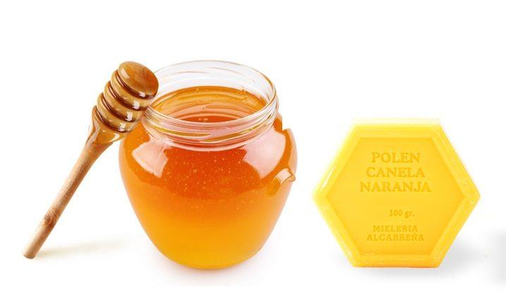 Cosmética con miel