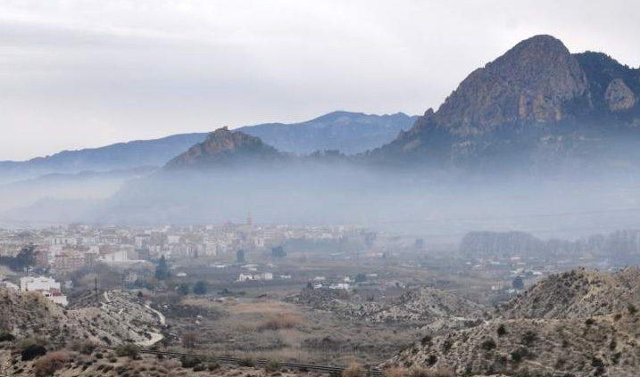 contaminación atmosférica en ascenso