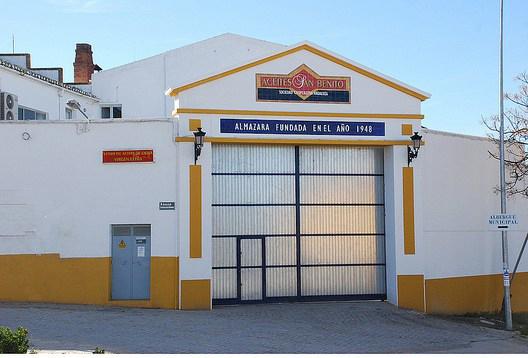 Cooperativa de San Benito en Porcuna, aqui puedes comprar aceite de oliva virgen extra