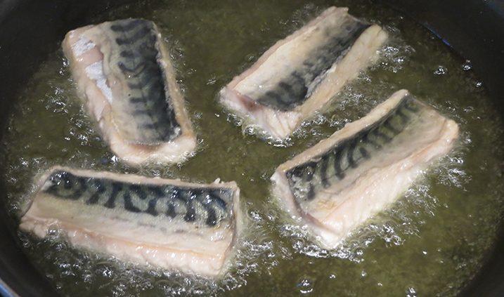 el mejor aceite para freír pescado