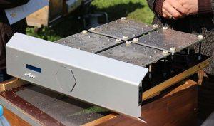 sauna para desinfectar una colmena