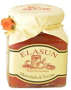 mermelada de tomate de Elasun, con todas las propiedades del tomate