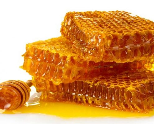 Panales de miel sin pasteurizar