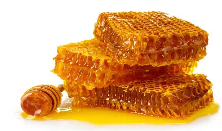 Bienenwabe mit Honig Unpasteurisiert