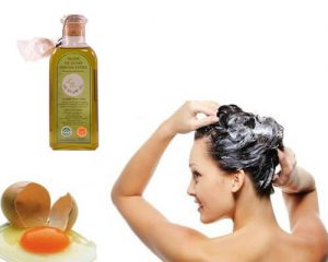 aceite de oliva y huevo en la cosmética