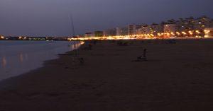 Anochecer en Puerto de Santa María