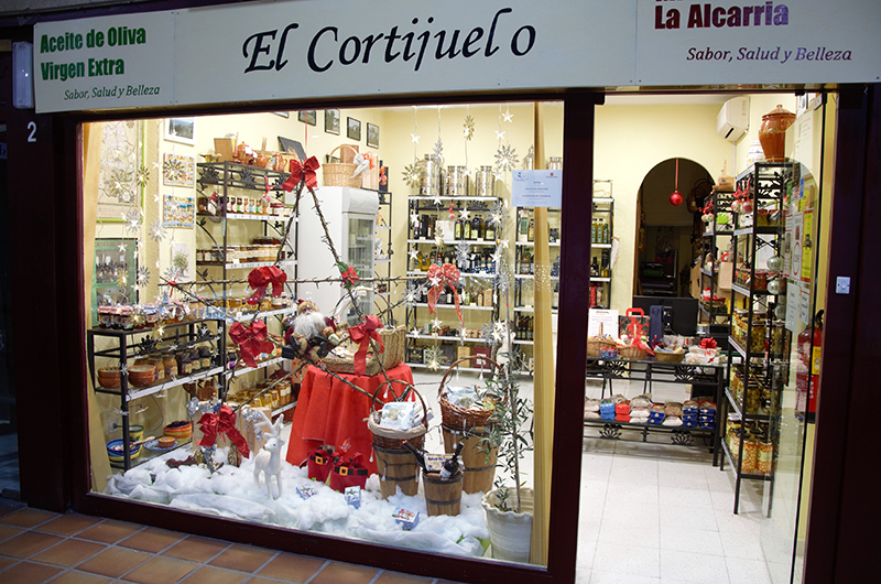 El Cortijuelo San Benito, a good place to buy olive oil
