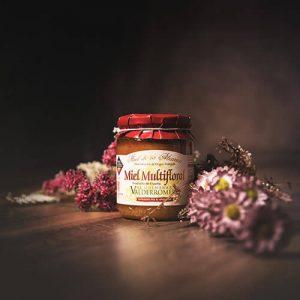 Bote de miel de mil flores con DO La Alcarria