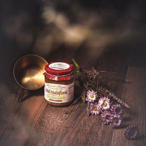 Miel de mil flores de Valderomero