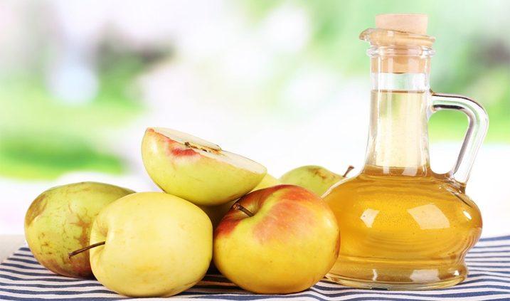 manzana y vinagre de manzana