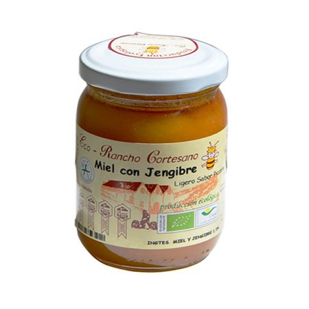 Honey with organic ginger from the Rancho Cortesano