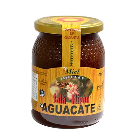 Raw avocado honey of Sala e Higón 500 g