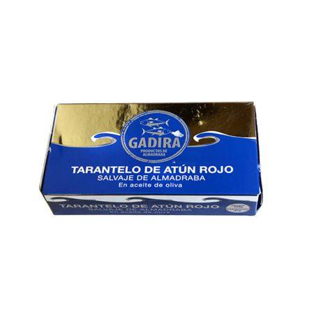 tarantelo de atún rojo en aceite de oliva Gadira