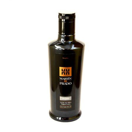 Botella de aceite de oliva Arbequina de Martin de Prado