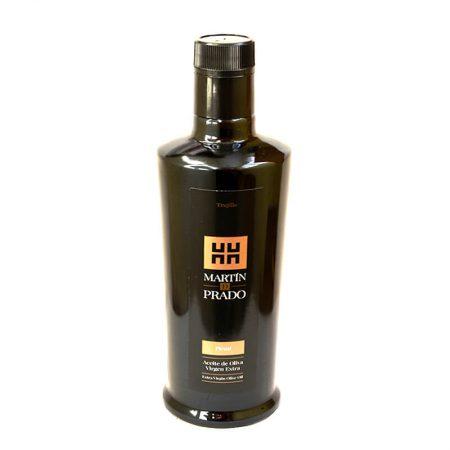 Botella de aceite de oliva picual de Martín de Prado