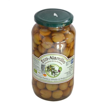 organic aloreña olives Eco-alamillo from Malaga 980 g