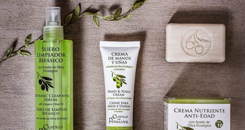 Productos de cosmética de Castillo de Peñalver