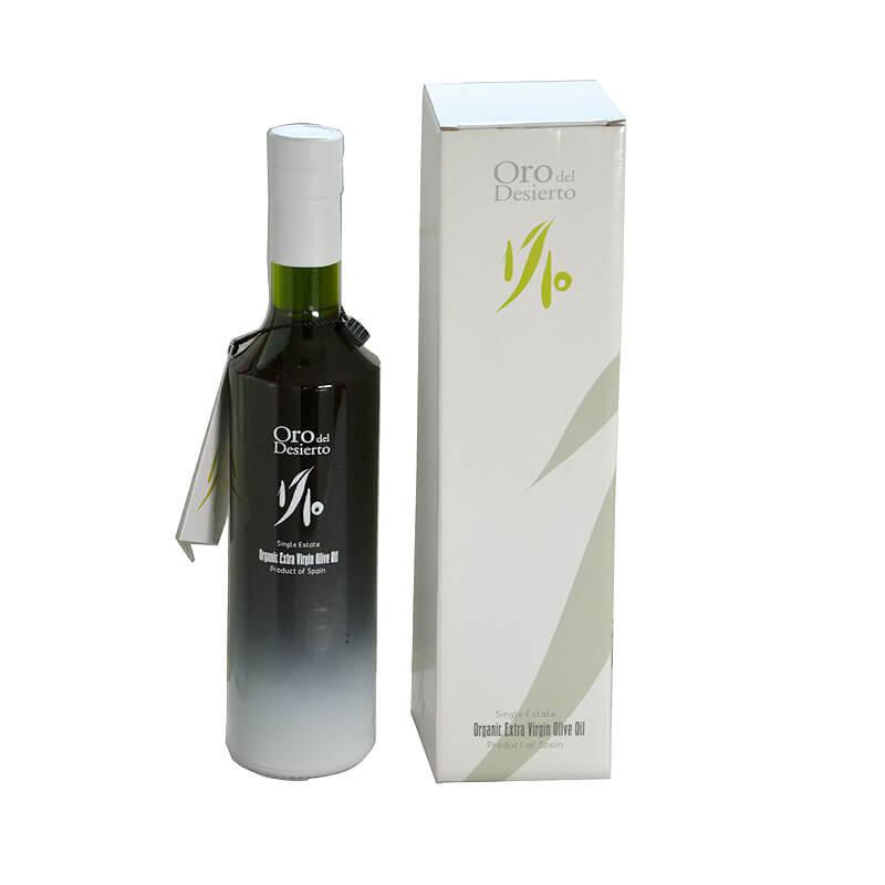 aceite de oliva ecológico edición limitada de Oro del desierto