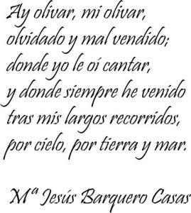 Poema de Barquero Casas