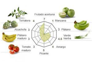 Aromas del arbequina de Casas de Hualdo