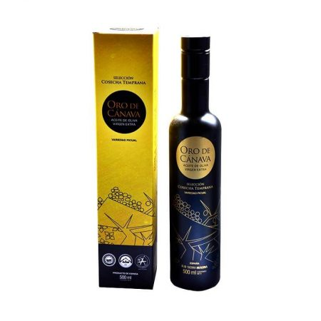 aAceite de oliva de Oro de Cánava